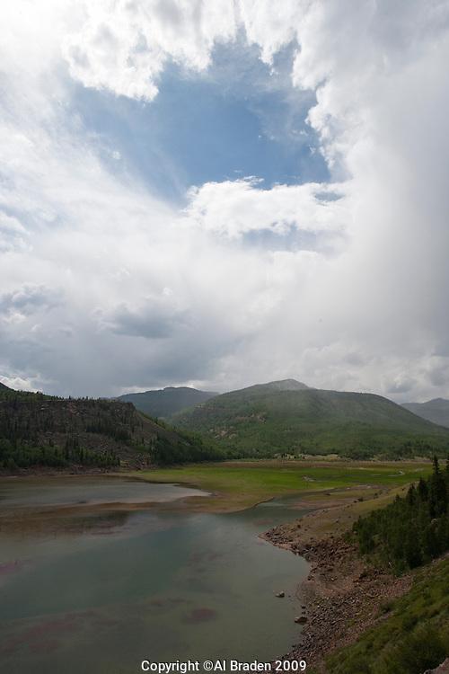 Rio Grande Reservoir, Hinsdale County, CO.