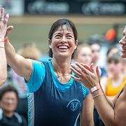 4:58 PM- Grassroots Trust #43- Women?s Team Relay Masters A-D, U19, U17<br /> <br /> NZ Indoor Champs, raced at Avanti Drome, Cambridge, New Zealand, Saturday 23rd November 2019 © Copyright Steve McArthur / @rowingcelebration www.rowingcelebration.com