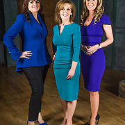 Eleanor McEvoy, Alison Cowzer and Chanelle McCoy  - RTE Dragon's Den promotional imagery by Ruth Medjber www.ruthlessimagery.com