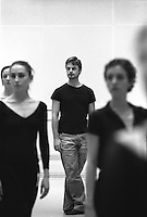 """Choreographer, Cristopher Wheeldon in rehearsal for the world premiere of his ballet, """"Tryst"""" at the Royal Ballet."""