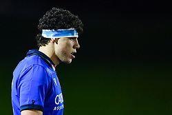 Luca Andreani of Italy<br /> <br /> Photographer Craig Thomas/Replay Images<br /> <br /> U20 Six Nations - Wales v Italy  - Friday 31st January 2020 - Stadiwm Zip World (Parc Eirias) - Colwyn Bay<br /> <br /> World Copyright © Replay Images . All rights reserved. info@replayimages.co.uk - http://replayimages.co.uk