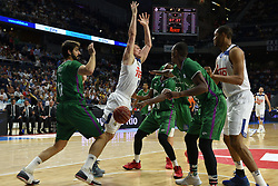 May 31, 2017 - Madrid, Madrid, Spain - Jonas Maciulis (C) #8 of Real Madrid in action during the first game of the semifinals of basketball Endesa league between Real Madrid and Unicaja de Málaga. (Credit Image: © Jorge Sanz/Pacific Press via ZUMA Wire)