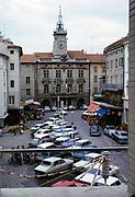 Historic city hall building Hotel de Ville, Orange, France 1973