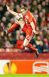 18.03.2010, Anfield, Liverpool, ENG, UEFA EL, Liverpool FC vs OSC Lille im Bild Liverpool's Jamie Carragher, EXPA Pictures © 2010, PhotoCredit: EXPA/ Propaganda/ D. Rawcliffe