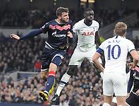 Football - 2019 / 2020 UEFA Champions League - Group B: Tottenham Hotspur vs. Red Star Belgrade<br /> <br /> Nemanja Milunovic of Red Star, at The Tottenham Hotspur Stadium.<br /> <br /> COLORSPORT/ANDREW COWIE
