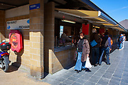 Fish market, fishmarkt, Vissers Kaai, Ostend, coastal city in Belgium