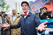 Bill Nye the Science Guy leading the March for Science in Washignton D.C.  on Earth Day