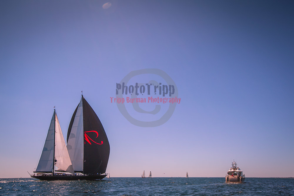 During the Bucket Regatta at , Newport, Rhode Island, USA, August24,2013.  Photo: Tripp Burman