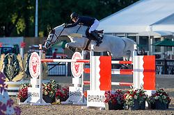 Whitaker Michael, GBR, Baltimore VDM<br /> CSI5* Jumping<br /> Royal Windsor Horse Show<br /> © Hippo Foto - Jon Stroud