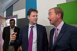 File photo dated 06/06/17 of Liberal Democrats leader Tim Farron and Nick Clegg, who has lost his Sheffield Hallam seat to Labour.