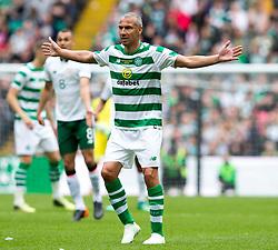 Celtic's Henrik Larsson during the testimonial match at Celtic Park, Glasgow.