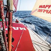 Leg 01, Alicante to Lisbon, day 03, on board MAPFRE. Photo by Ugo Fonolla/Volvo Ocean Race. 24 October, 2017