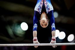 October 28, 2018 - Doha, Quatar - Juliette Bossu of France   during  Uneven Bars qualification at the Aspire Dome in Doha, Qatar, Artistic FIG Gymnastics World Championships on 28 of October 2018. (Credit Image: © Ulrik Pedersen/NurPhoto via ZUMA Press)