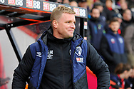 AFC Bournemouth manager Eddie Howe during the Premier League match between Bournemouth and West Ham United at the Vitality Stadium, Bournemouth, England on 19 January 2019.