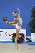 Veronica Bertolini was born in Sondrio October 19, 1995, she is an individual gymnast of the Italian team. She is five times the Italian rhythmic gymnastics champion until 2017