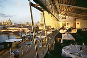 England, London, Thames River, Oxo Tower Restaurant