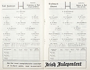 All Ireland Senior Hurling Championship Final,.04.09.1960, 09.04.1960, 4th September 1960,.Minor Tipperary v Kilkenny, .Senior Wexford v Tipperary, Wexford 2-15 Tipperary 0-11,.Wexford,.P Nolan, J Mitchell, N O'Donnell, T Neville, M English, W Rackard, J Nolan, E Wheeler, J Morrissey, J O'Brien, P Kehoe, S Quaid, O McGrath, J Harding, T Flood, 16 M Morrissey, S Power, E Kelly, S English, M Bennett, ..Tipperary,.T Moloney, M Hassett, M Maher, K Carey, M Burns, A Wall (Capt), J Doyle, T English, T Ryan, J Doyle, L Devaney, D Nealon, L Connolly, T Moloughney, S McLoughlin, W Moloughney, D Ryan, N Murphy, D O'Brien, R Reidy,
