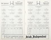 All Ireland Senior Hurling Championship Final,.04.09.1960, 09.04.1960, 4th September 1960,.Minor Tipperary v Kilkenny, .Senior Wexford v Tipperary, Wexford 2-15 Tipperary 0-11,.Wexford,.P Nolan, J Mitchell, N O'Donnell, T Neville, M English, W Rackard, J Nolan, E Wheeler, J Morrissey, J O'Brien, P Kehoe, S Quaid, O McGrath, J Harding, T Flood, 16 M Morrissey, S Power, E Kelly, S English, M Bennett, ..Tipperary,.T Moloney, M Hassett, M Maher, K Carey, M Burns, A Wall (Capt), J Doyle, T English, T Ryan, J Doyle, L Devaney, D Nealon, L Connolly, T Moloughney, S McLoughlin, W Moloughney, D Ryan, N Murphy, D O'Brien, R Reidy,