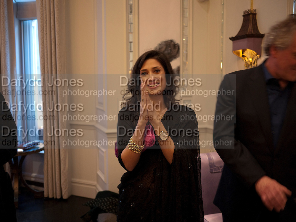 FATIMA BHUTTO, Henry Porter hosts a launch for Songs of Blood and Sword by Fatima Bhutto. The Artesian at the Langham London. Portland Place. 15 April 2010.