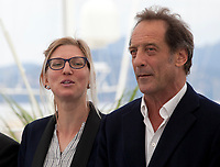 Mélanie Rover and Vincent Lindon at the En Guerre (In War) film photo call at the 71st Cannes Film Festival, Wednesday 16th May 2018, Cannes, France. Photo credit: Doreen Kennedy