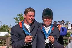 Dubbeldam Marijn (NED), Voorn Albert (NED)<br /> Olympic Games Sydney 2000<br /> © Dirk Caremans