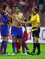DEBRECEN V  MANCHESTER UNITED (0-3) BUDAPEST 24.08.05 <br />