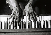 The hands of blusman Mose Vinson, now deceased.