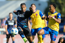 October 21, 2018 - San Jose, California, United States - San Jose, CA - Sunday October 21, 2018: Danny Hoesen during a Major League Soccer (MLS) match between the San Jose Earthquakes and the Colorado Rapids at Avaya Stadium. (Credit Image: © Casey Valentine/ISIPhotos via ZUMA Wire)