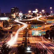 Kansas City's downtown loop and MO 71 Highway