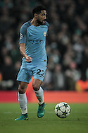 Gaël Clichy (Manchester City) during the Champions League match between Manchester City and Celtic at the Etihad Stadium, Manchester, England on 6 December 2016. Photo by Mark P Doherty.