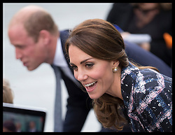 October 14, 2016 - Manchester, United Kingdom - Image licensed to i-Images Picture Agency. 14/10/2016. Manchester, United Kingdom. The Duke and Duchess of Cambridge meet the crowds as they leave  the National Football Museum  in Manchester. Picture by Stephen Lock / i-Images (Credit Image: © Stephen Lock/i-Images via ZUMA Wire)
