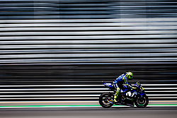October 5, 2018 - Buriram, Thailande - VALENTINO ROSSI - ITALIAN - MOVISTAR YAMAHA MotoGP - YAMAHA (Credit Image: © Panoramic via ZUMA Press)