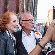NLD/Amsterdam/20150511 - Jon van Eerd en Ton Fieren vieren hun 35jarig partnerschap, Gerrie van der Kleij en Frans Mulder