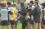 Richmond, Surrey, UK.,  04/11/2002, Coach, John MITCHELL, All Black Rugby Training, Richmond Athletic Ground, Old Deer Park, [Mandatory Credit; Peter Spurrier/Intersport Images]