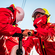 Leg 7 from Auckland to Itajai, day 06 on board MAPFRE. 23 March, 2018.