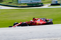 November 10, 2017 - Sao Paulo, Sao Paulo, Brazil - 5 SEBASTIAN VETTEL (GER) of Scuderia Ferrari, drives during the free training day for the Formula One Grand Prix of Brazil at Interlagos circuit, in Sao Paulo, Brazil. The grand prix will be celebrated next Sunday, November 12. (Credit Image: © Paulo Lopes via ZUMA Wire)