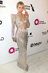 February 24, 2019 - West Hollywood, CA, USA - LOS ANGELES - FEB 24:  Paris Hilton at the Elton John Oscar Viewing Party on the West Hollywood Park on February 24, 2019 in West Hollywood, CA (Credit Image: © Kay Blake/ZUMA Wire)