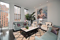 NYC Living Room at 420 West 25th Street