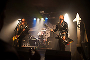 D-A-D from Denmark plays live at the Garage in Islington to a predominantly Danish audience. It is the bands 30th anniversary tour.