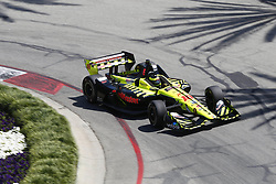 April 13, 2018 - Long Beach, California, United States of America - April 13, 2018 - Long Beach, California, USA: SŽbastien Bourdais (18) takes to the track to practice for the Toyota Grand Prix of Long Beach at Streets of Long Beach in Long Beach, California. (Credit Image: © Justin R. Noe Asp Inc/ASP via ZUMA Wire)