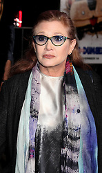 File photo dated 11/3/14 of Carrie Fisher, who has died at age 60