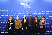 Brussels , 01/02/2020 : Les Magritte du Cinema . The Academie Andre Delvaux and the RTBF, producer and TV channel , present the 10th Ceremony of the Magritte Awards at the Square in Brussels .<br /> Pix: Benedicte Lienard; Mary Jimenez; <br /> Credit : Alexis Haulot - Dana Le Lardic - Didier Bauwerarts - Frédéric Sierakowski - Olivier Polet / Isopix