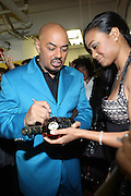 l to r: James Ingram and Tatiana Ali at the The Radio One Inaugural Celebration 2009 Hennessey VIP Lounge Salute held at Lincoln Theater in Washington, DC on January 17, 2009..CATHY HUGHES, RADIO ONE FOUNDER AND CHAIRPERSON had a Hometown Inaugural Salute to President Barack Obama and Tom Joyner at the Lincoln Theater in Washington DC. Hennessy hosted celebrities and guests in a branded Hennessy lounge where Tatiana Ali interviewed celebrities about their feelings toward the Barack Obama Presidency. Celebrities in attendance included Jamie Foxx, Alonzo Morning, Eddie Levert, T. D. Jakes, Rev. Al Sharpton, Jackie Reid, Roland Martin, Dick Gregory, Raheem DaVaughn, Bow Bow, and more. Hennessy presented a commemorative Hennessy 44 Bottle which was signed by numerous celebrities which will be auctioned to create 4 four-year scholarships via the Thrugood Marshall College Fund...