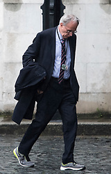 © Licensed to London News Pictures. 08/05/2019. London, UK. Conservative MP PETER BONE is seen arriving at the Houses of Parliament in Westminster ahead of PMQs. Talks between Number 10 and Labour party officials continue in an attempt to reach an agreement on a withdrawal agreement from the EU. Photo credit: Ben Cawthra/LNP