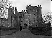 Kilkea Castle, Castledermot, Co. Kildare.28.02.1961