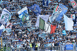 May 6, 2018 - Rome, Lazio, Italy - SS Lazio supporters during the Italian Serie A football match between S.S. Lazio and Atalanta at the Olympic Stadium in Rome, on may 06, 2018. (Credit Image: © Silvia Lore/NurPhoto via ZUMA Press)