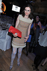SOPHIE ELLIS-BEXTOR at the GQ Men of the Year 2011 Awards dinner held at The Royal Opera House, Covent Garden, London on 6th September 2011.