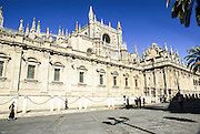 Spain, Seville, Cathedral exterior