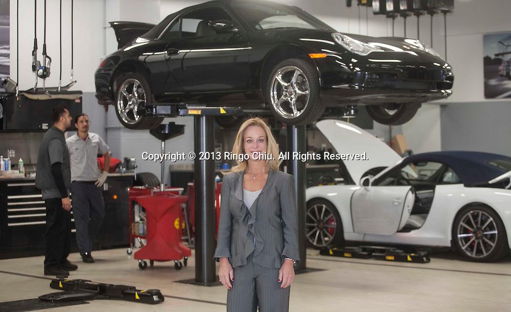 Victoria Rusnak, CEO, Rusnak Auto Group in Pasadena.<br /> (Photo by Ringo Chiu/PHOTOFORMULA.com)