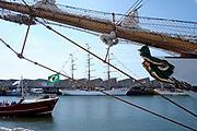 The harbour of Scheveningen during Sail Scheveningen, The Hague, Netherlands